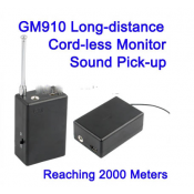 New Spy Ear Bug Monitor tracker GM910 Long-distance Cord-less monitor Sound pick-up GM-910 listening device