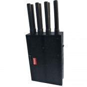 8 Bands GSM CDMA 3G 4G WiFi Cell Phone Jammer,Blocking 4G LTE 750mhz 2300mhz mobile phone all in one