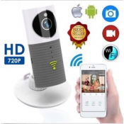 720P Mini Clever Dog Security Smart IP Camera with Wifi H.264 Wireless TF Card Storage with US plug
