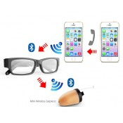 Bluetooth Glasses with Spy Earpiece