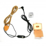 Micro Earpiece 680 Hidden Earphone Upgrade 305 Earpiece  With Inductive Neckloop Volume