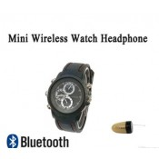 New Watch Bluetooth Wireless Hidden Invisible Earphone Spy Earpiece spy watch earpiece
